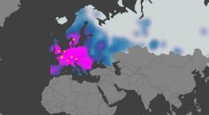 Mapa de difusión de banda ancha en Europa. Fuente: Akamai