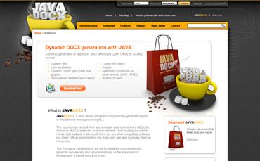 Website de JavaDocX